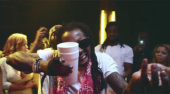 2 Chainz & Lil Wayne - Bounce  (video)