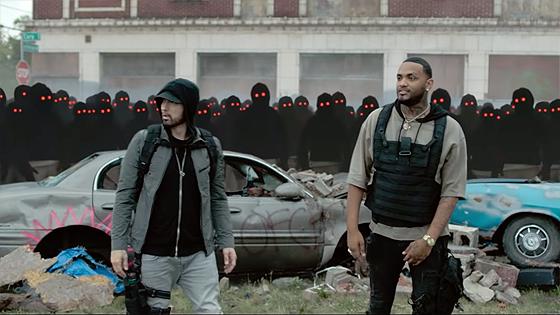 Eminem ft. Joyner Lucas - Lucky You (Video)