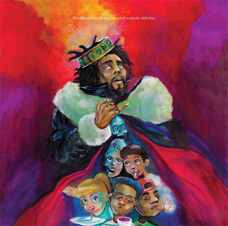 J. Cole - KOD (Album Art)
