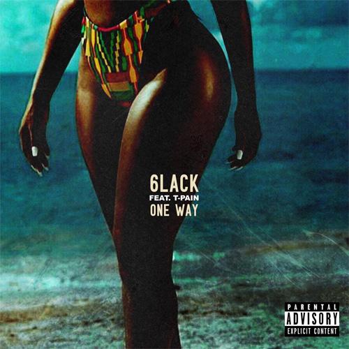 6LACK ft. T-Pain - One Way (Audio)